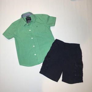 Náutica Shirt for Children, and Garanimal Short